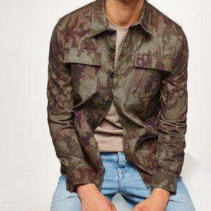 TopMan Camo Overshirt Fit NWT